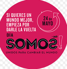PONTE UNA PRENDA AL REVES 24 MAYO &#8221; SOMOS &#8220;